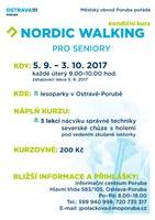 Kurz nordic walkingu pro seniory
