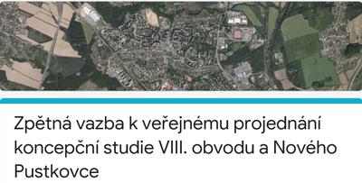 Koncepční studii 8. obvodu a tzv. Nového Pustkovce doplní informace z dotazníku