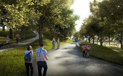 Vítězný návrh na revitalizaci Zámeckého parku okouzlí jednoduchostí a přirozeností