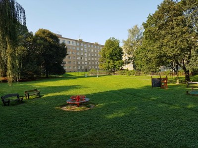Zelená Porubě: vzniknou ideové návrhy na úpravu čtyř dvorů