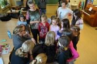 Helena Zeťová zpívala s dětmi