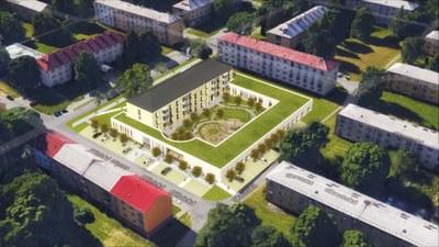 Komunitní dům pro seniory Dělnická: rekonstrukce začne na jaře