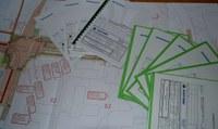 Můžete nahlédnout do projektové dokumentace k tramvajové trati