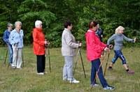 Nordic walking pro seniory