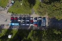 Poruba ukázala, jak mohou automobily vládnout městu