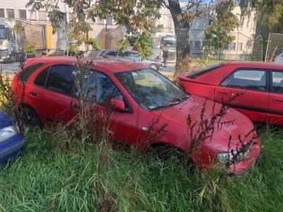 Poruba vydražila první autovraky