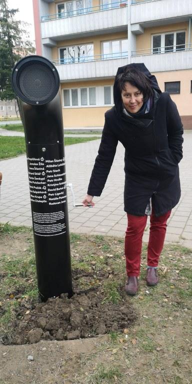 První poeziomat na kličku v Česku stojí v Porubě