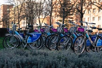 Sdílená kola jsou k vypůjčení až na třicet minut zdarma