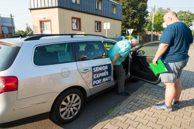 Senior expres Poruba jezdí i za hranice města