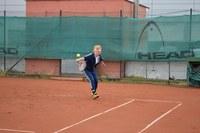 Tenisový turnaj otevřel Sportovní hry seniorů