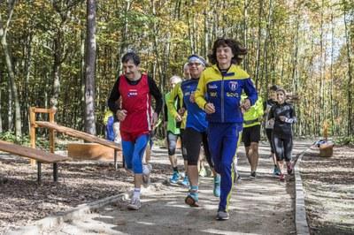 V porubském lesoparku byl otevřen speciální běžecký okruh