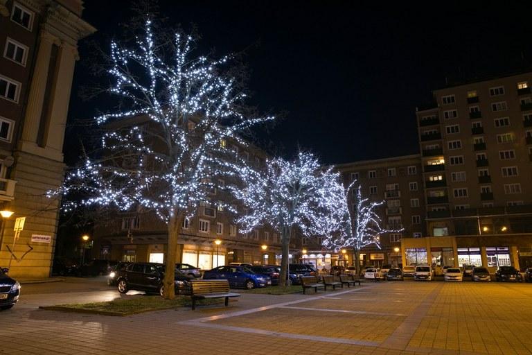Vánoční výzdoba se rozsvítí 28. listopadu