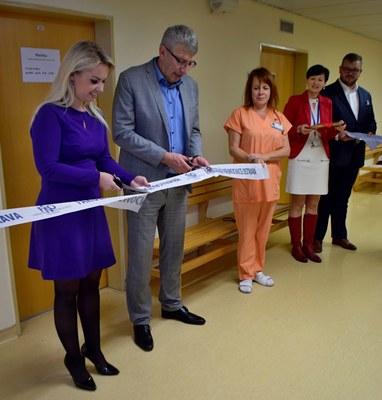 Ve fakultní nemocnici bylo otevřeno detašované pracoviště matriky