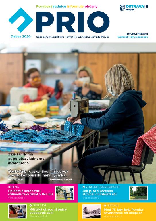 Vychází dubnové číslo zpravodaje PRIO