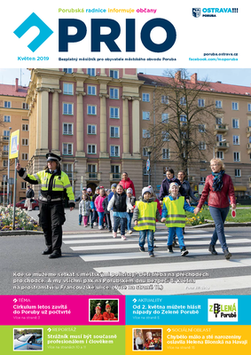 Vychází květnové číslo zpravodaje PRIO