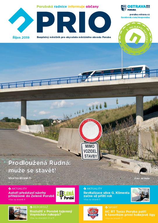 Vyšlo říjnové číslo zpravodaje PRIO
