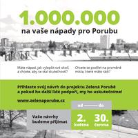 Zelená Porubě: Můžete začít podávat své návrhy
