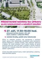Představení návrhu na úpravu ulic
