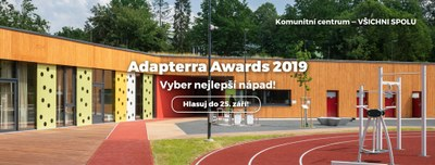 Uspěje komunitní centrum v soutěži Adapterra Awards?