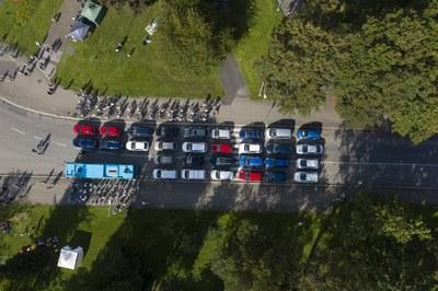Poruba ukázala, jako mohou automobily vládnout městu