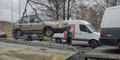 Vraky aut mizí z ulic Poruby